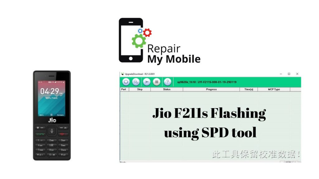 LYF Jio F211S Flash File