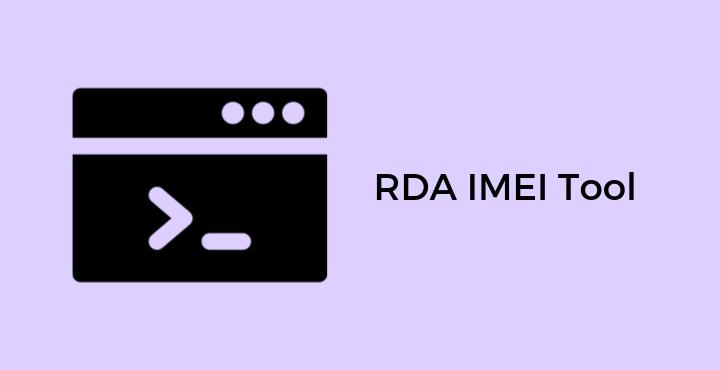 RDA Imei Repair tool