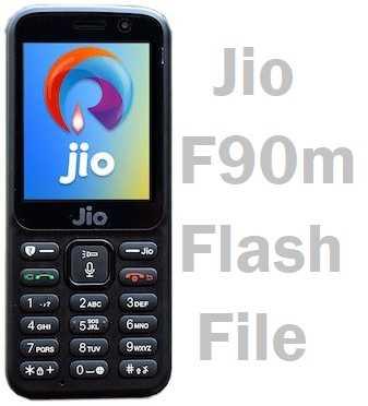 Jiophone F90M_Firmware