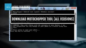motochopper tool