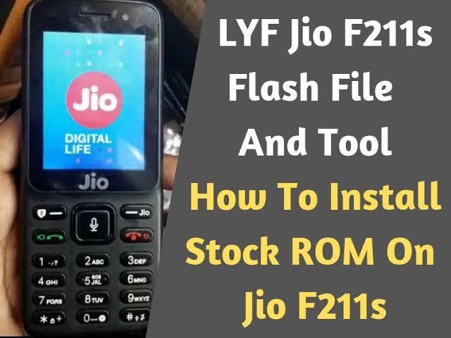 Photo of LYF Jio F211S Full Stock ROM Flash File For Flashing Firmware