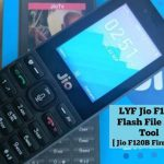 Jiophone F120B Flashing