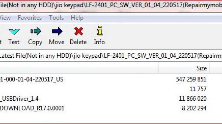 flash file lf 2401