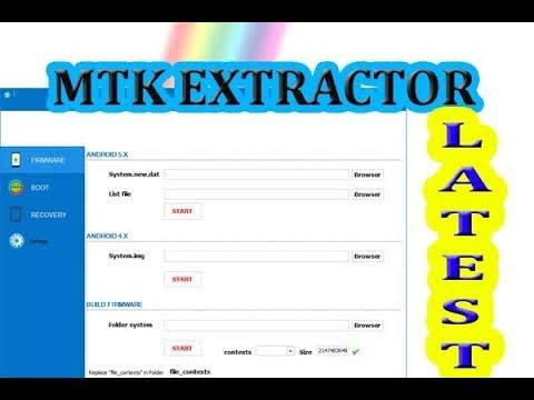 MTK Extractor