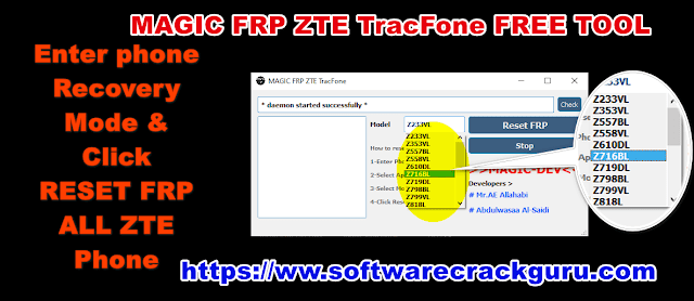 magic frp zte