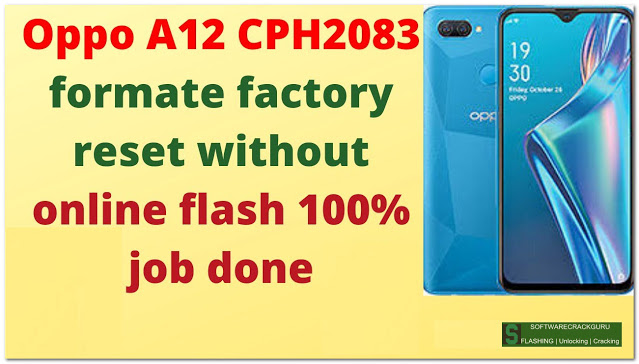 oppo a12 format