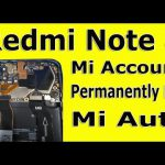 Redmi Note 8 (Global) Remove Mi Account [Without VPN Just Flashing] (Locked Bootloader) – FREE DOWNLOAD