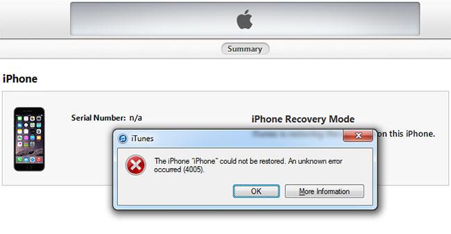 iPhone All Error