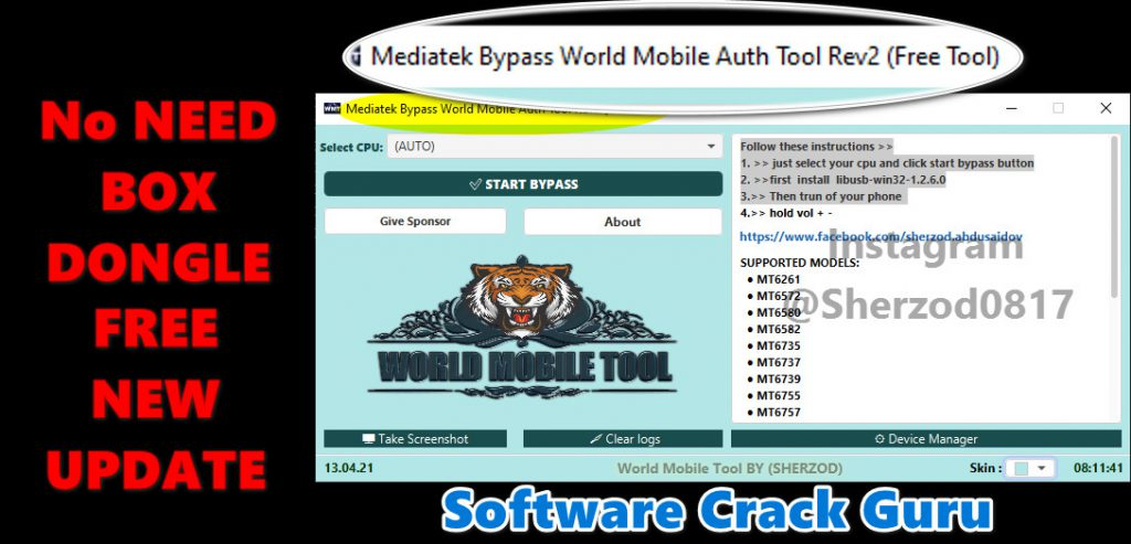 Mediatek Bypass